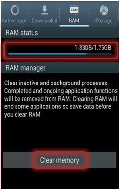 How to Check RAM Status of my Galaxy Note2?
