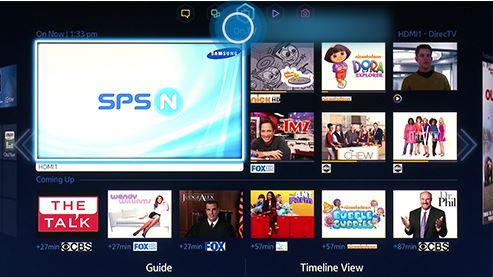 How to Download new applications to Samsung LED F5500 Series TV?
