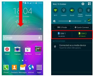 Galaxy A Series: How to use and manage dual SIM cards?