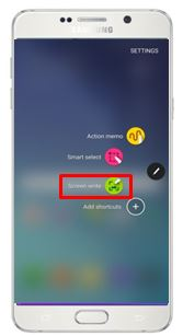 Galaxy Note5: How to use the expanded Screen Capture of the S Pen?