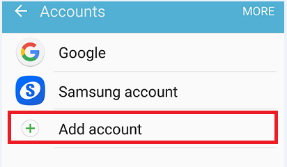 Smartphones: How to setup Hotmail account for Android 6?