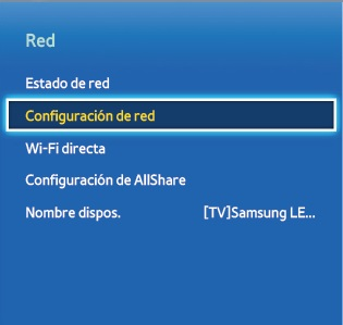 ¿Cómo conecto mi TV a internet usando cable de red? (F5500,F6800,F7500,F8000)