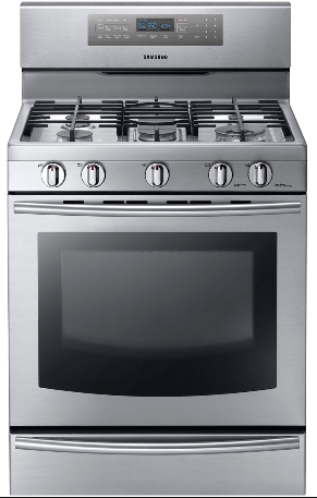 Why does my Samsung oven make a popping sound?