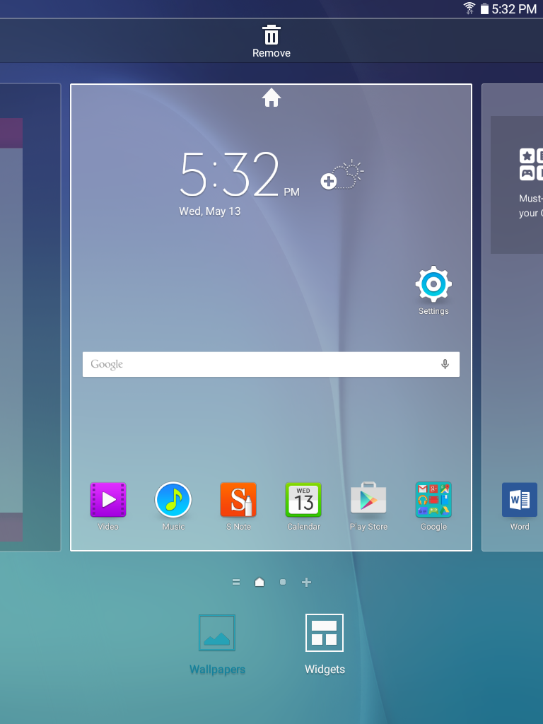 Galaxy Tab A: How can I change the wallpaper on my Samsung Galaxy Tab A?
