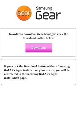 GEAR S: HOW DO I INSTALL GEAR MANAGER ON MY DEVICE?