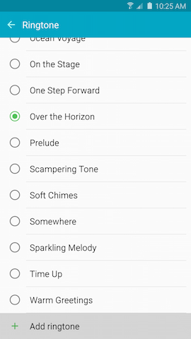 Galaxy Note5: How can I set a music file as a ringtone on my Samsung Galaxy Note5?