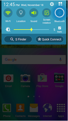 Galaxy A5: How do I use Bluetooth on my Samsung Galaxy A5?