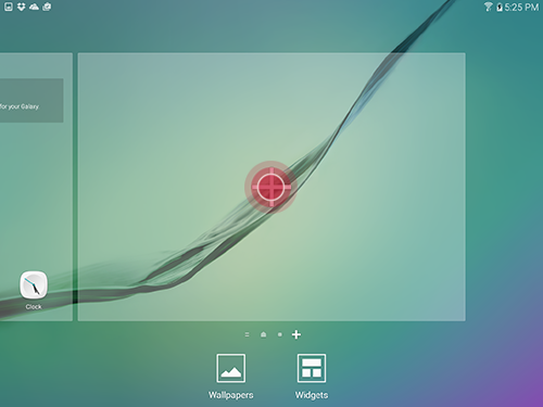 Galaxy Tab S2: How do I customize the Home screen layout on my Samsung Galaxy Tab S2?