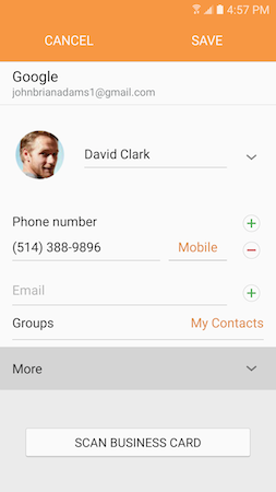 How can I assign different ringtones to different contacts on my Galaxy S7?