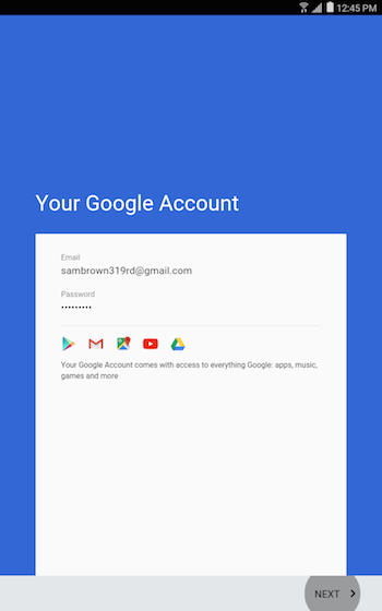 Google account 13