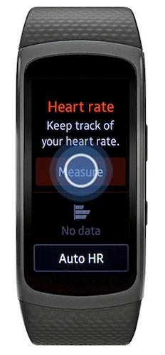 Monitoring heart rate 3