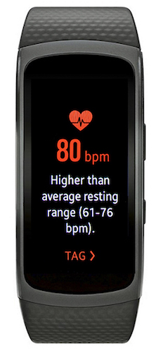 Monitoring heart rate 5
