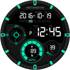 Watch face 8