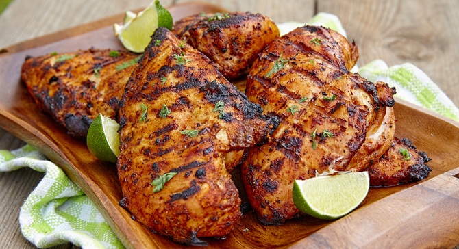Grilled chicken 6