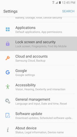 How can I pin apps on the lock screen of my Samsung Galaxy A5 2017 to quickly launch them?