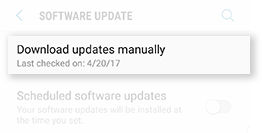 Software update 1