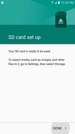 How do I format the microSD card inserted in my Galaxy A5 2017?