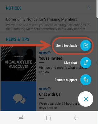 Samsung Members: How to Submit an Error Report?