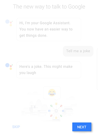How do I set up and use Google Assistant on my Galaxy Note8?