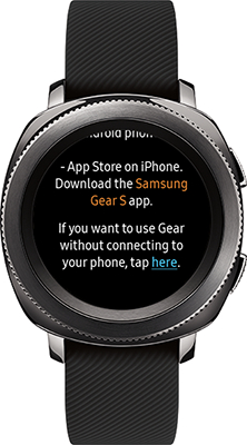 Gear Sport: How do I connect my Samsung Gear Sport (SM-R600) to my smartphone?