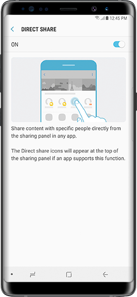 Enable Direct Share