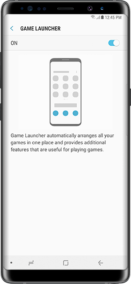 Turn On Game Launcher