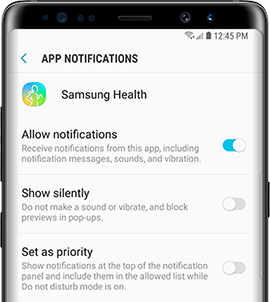 Customize App Notifications