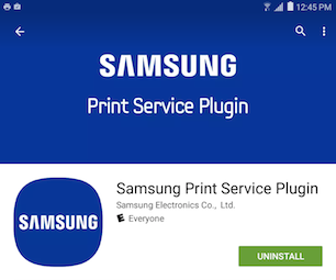 Galaxy Tab A: How do I print images or documents directly from my Samsung Galaxy Tab A?