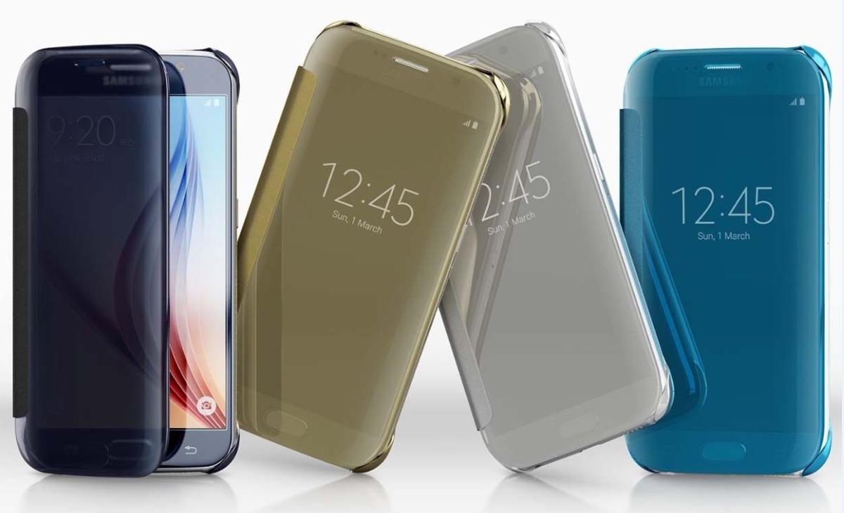 Traces de doigts ou de salissures sur l'étui Clear View | Samsung ...