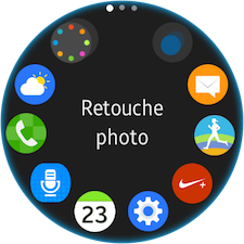 Gear S2: Installer, personnaliser ou désinstaller une application (SM-R720)