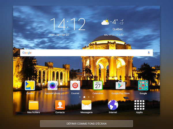 Galaxy Tab S2 Changer Le Fond D Ecran Sm T710 Ou Sm T810 Samsung Canada