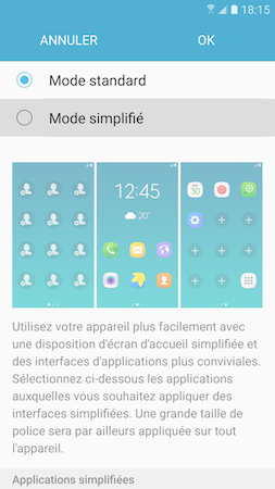 Mode simplifie 2