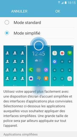 Mode simplifie 3
