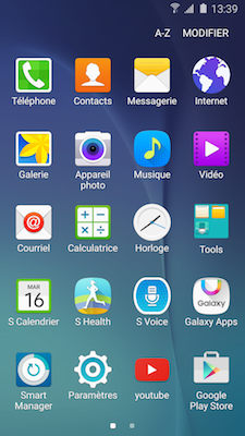 Samsung Galaxy Apps 1