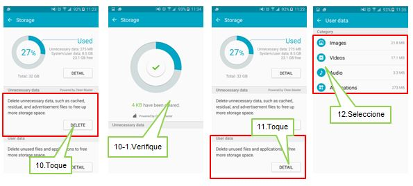 Galaxy S6: ¿Cómo utilizar Smart Manager?