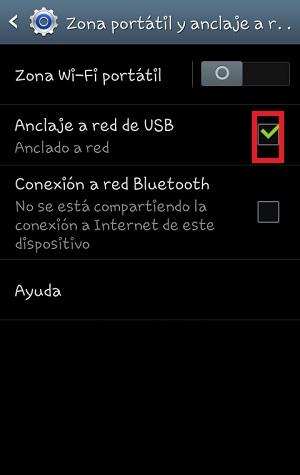 ¿Cómo compartir mi internet desde mi celular por medio USB?