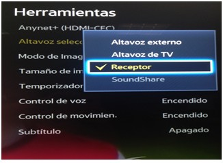 PARA  QUE  SIRVE  LA  FUNCION  ARC  MEDIANTE UN  CABLE  HDMI  ARC  (CANAL DE  RETORNO DE AUDIO)