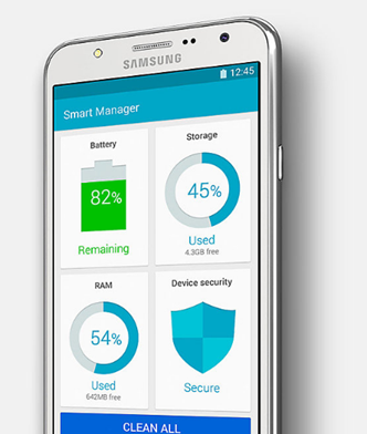 Galaxy J5 - Smart Manager