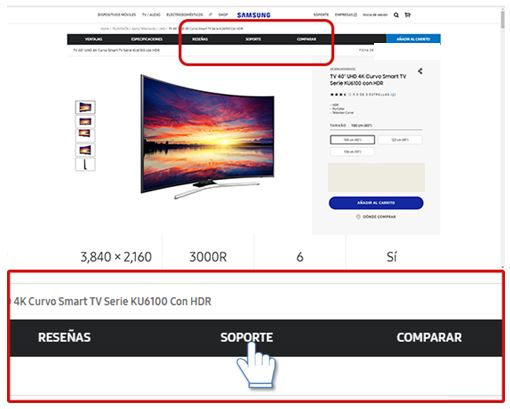 Samsung: Descargar actualización de software para Smart TV series J y K