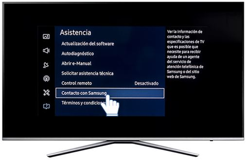 Samsung: Conocer la versión de software instalada en Smart TV serie K