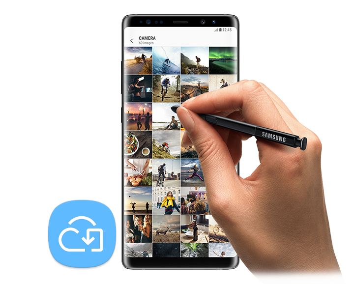 Galaxy Note8 - Galería de sincronización con Samsung Cloud