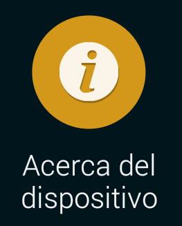 acerca del dispositivo