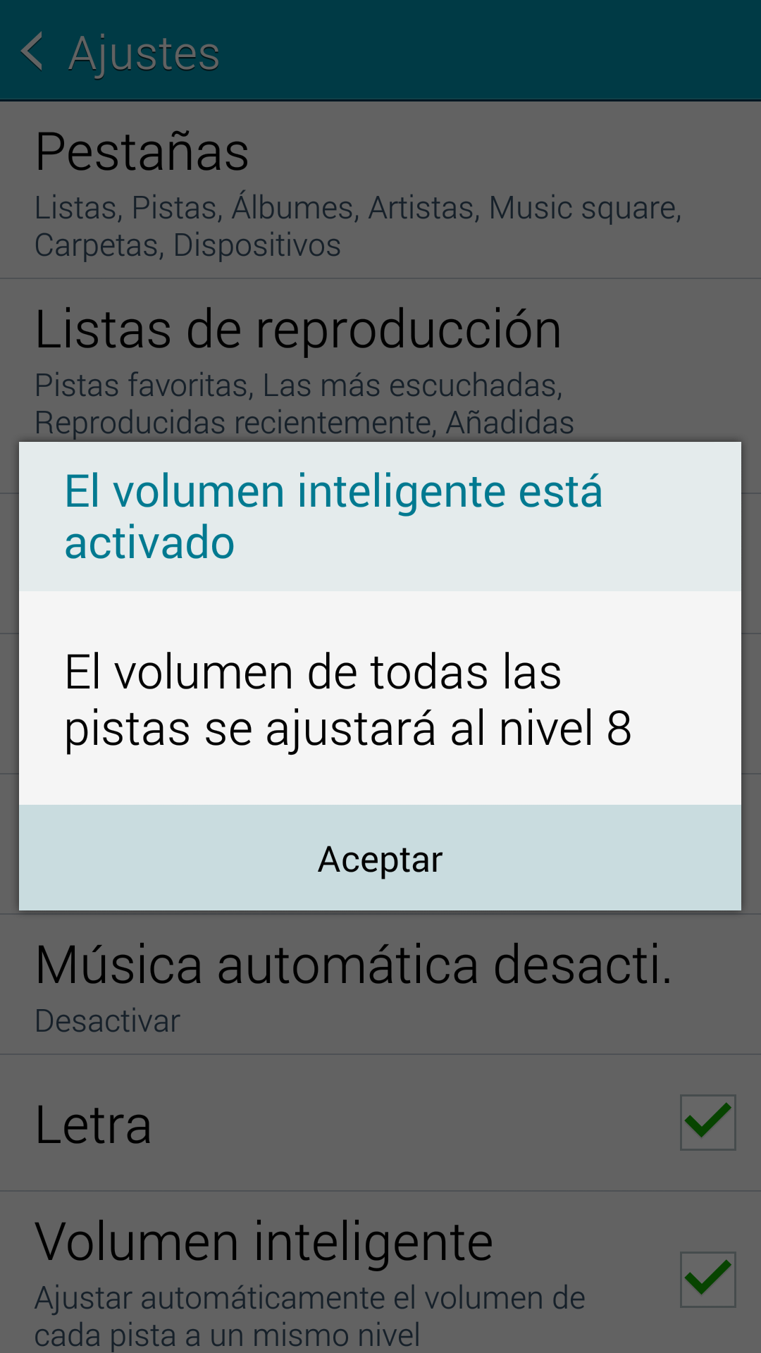 Galaxy S5: Volumen inteligente ¿Qué es?