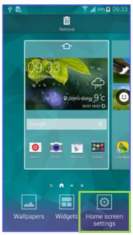 samsung galaxy s5 home screen settings 1
