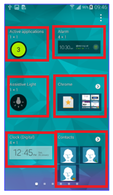 samsung galaxy s5 home widgets settings 2