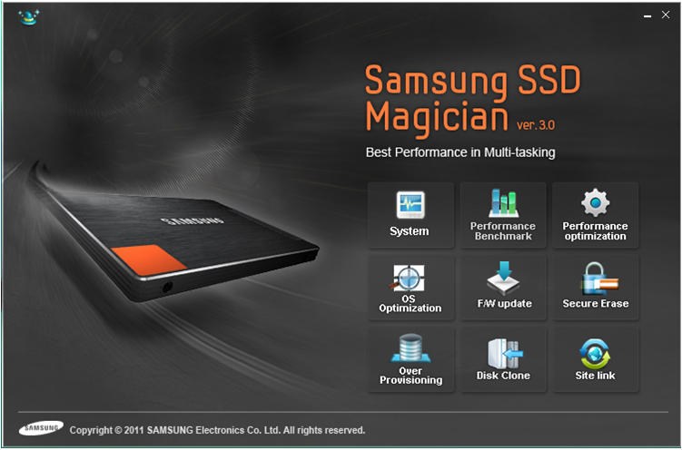 What is Magician's Software with new series of Samsung SSD's? | Samsung  Support India