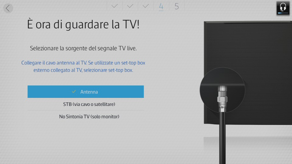 È ora di guardare la TV