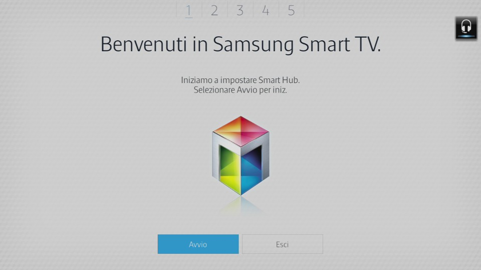 Benvenuti in Samsung Smart TV
