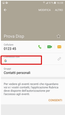 passeranno sul Account Google