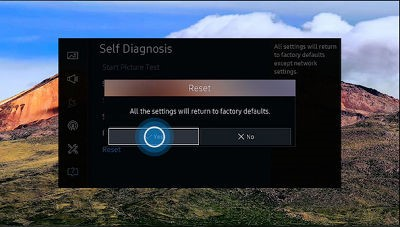 [TV SUHD KS Series] How to Reset the Tv to the factory Settings?